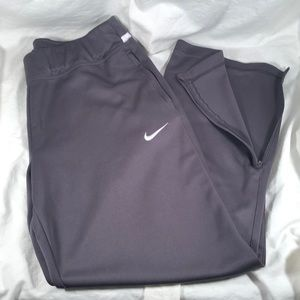 Nike basketball sweat pants men's Large